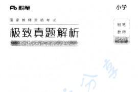 小学教师资格证 极致真题解析(教育教学知识与能力)下册   192页.pdf