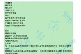 2010年华南师范大学810传播业务考研真题