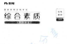 中学教师资格证 综合素质(内部讲义) 454页.pdf